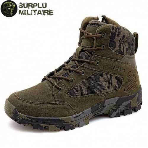 chaussures militaires boots green camo 46 1