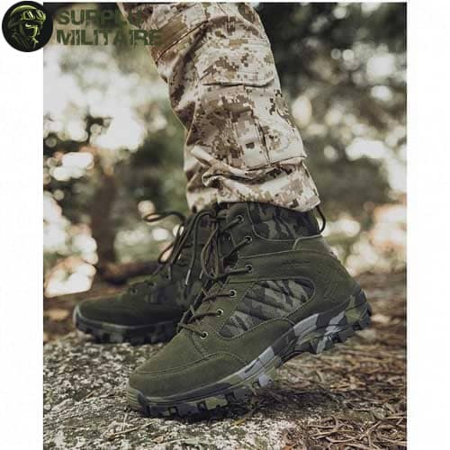 chaussures militaires boots green camo 46 prix 1