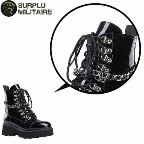 chaussures militaires girly boots gothiques 40 1