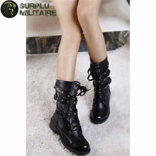 chaussures militaires girly boots trendy 42 1