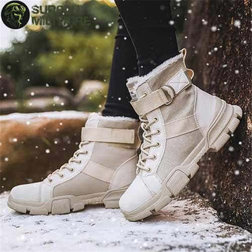 chaussures militaires girly urban boots beiges 41 cat 1