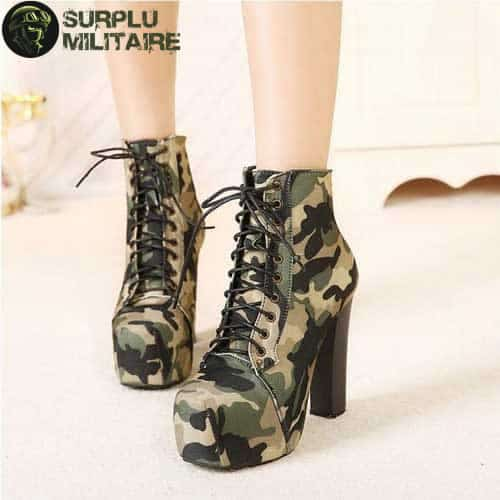 chaussures militaires low boots camo 40 a vendre