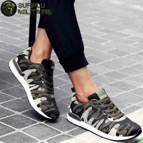 chaussures militaires sneakers classical camo 44 1