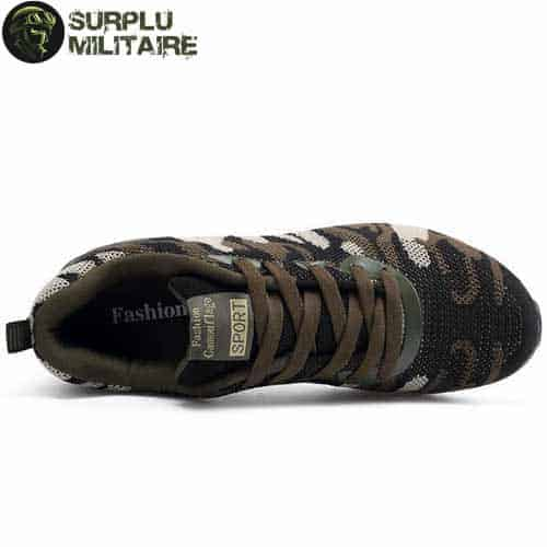 chaussures militaires sneakers classical camo 44 acheter 1