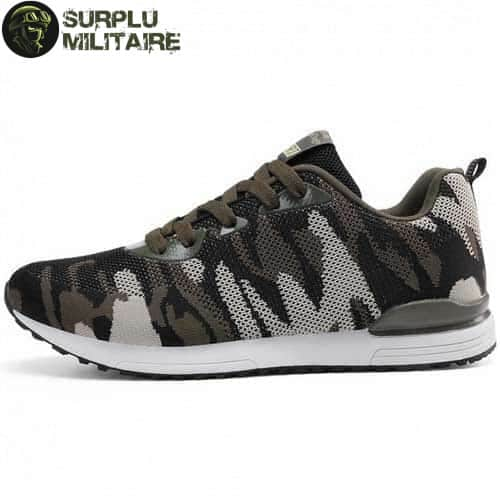 chaussures militaires sneakers classical camo 44 cat 1