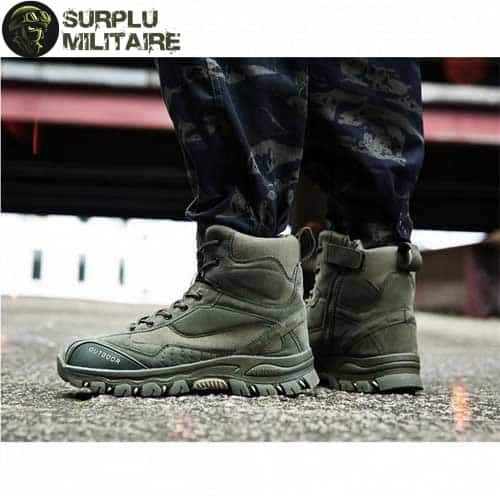 chaussures militaires tactical boots vertes 47 1